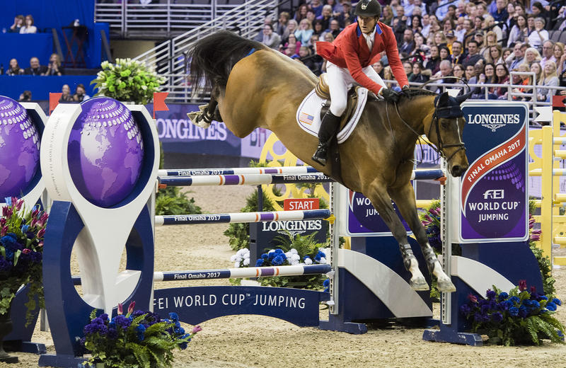 HH AZUR GARDEN'S HORSES (E.O.) (Thunder vd Zuuthoeve/Sir Lui - naisseur: Nathalie Beaufort à B-8600 Pervijze)